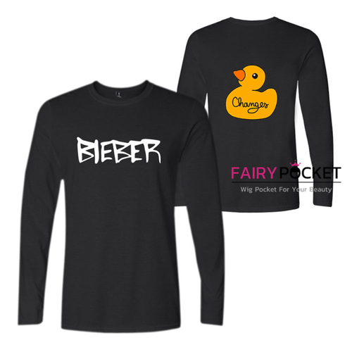 Justin Bieber Long-Sleeve T-Shirt (4 Colors)
