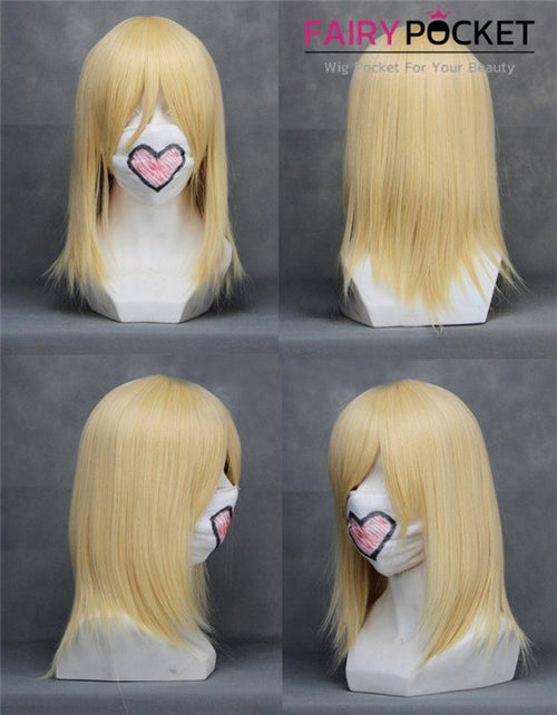 Kingdom Hearts Namine Cosplay Wig