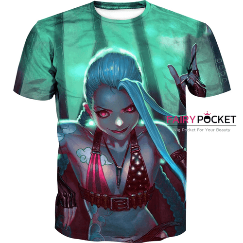 League of Legends Epic Jinx T-Shirt