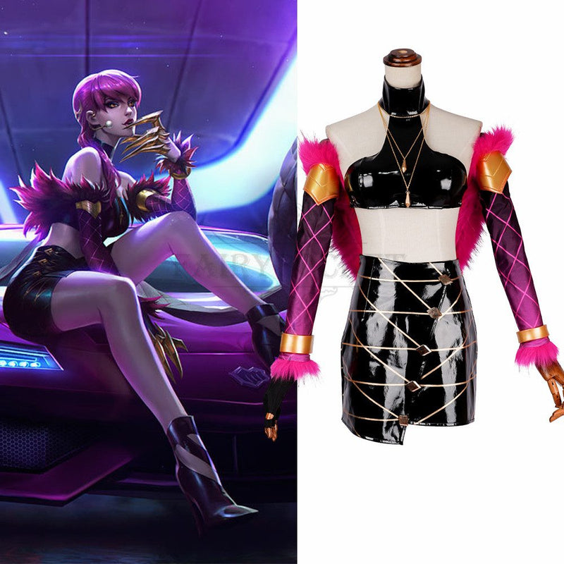League of Legends Evelynn Cosplay Costume
