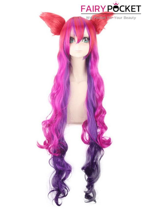 League of Legends Jinx Anime Cosplay Wig