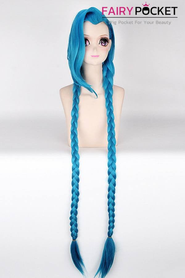 League of Legends Jinx Cosplay Wig