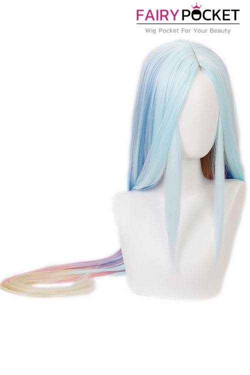 League of Legends Soraka Cosplay Wig - Blue