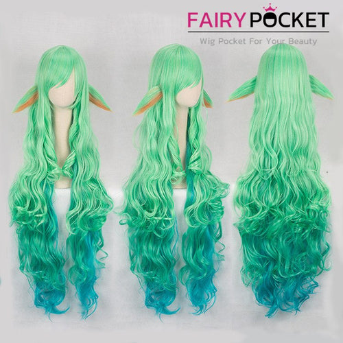 League of Legends Soraka Cosplay Wig