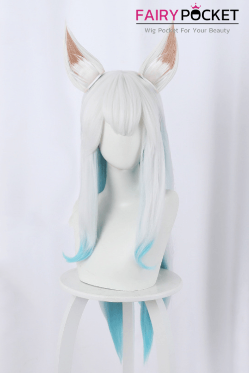 League of Legends Ahri Cosplay Wig (Inclued Ears) - B