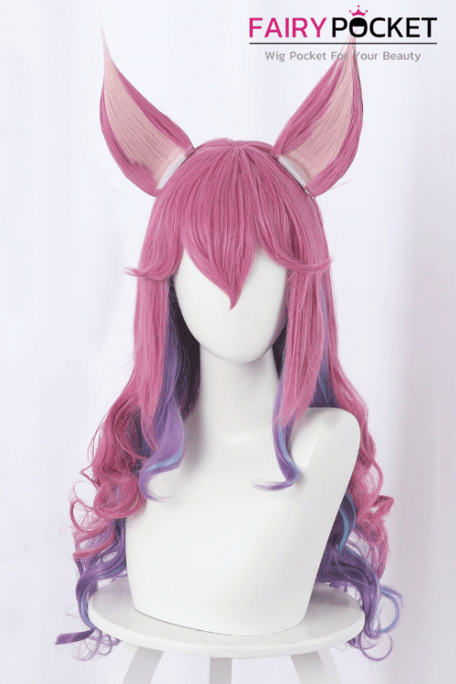 League of Legends Ahri Cosplay Wig (Inclued Ears)