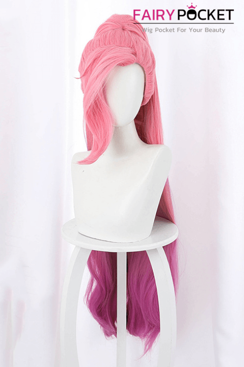 League of Legends KDA Seraphine Cosplay Wig