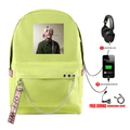 Lil Peep Backpack with USB Charging Port (5 Colors) - G