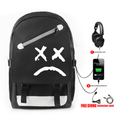 Lil Peep Backpack with USB Charging Port (5 Colors) - Q