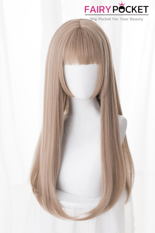 Lolita Long Straight Brown Basic Cap Wig