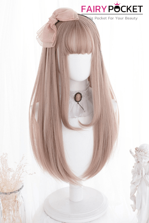 Lolita Long Straight Mink Tan Basic Cap Wig