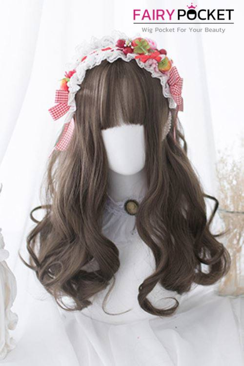 Lolita Long Wavy Brown Basic Cap Wig