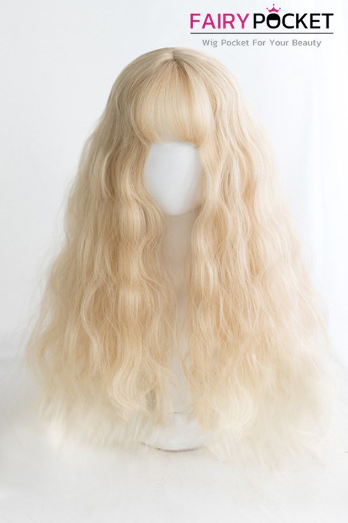 Lolita Long Wavy Buttermilk Basic Cap Wig