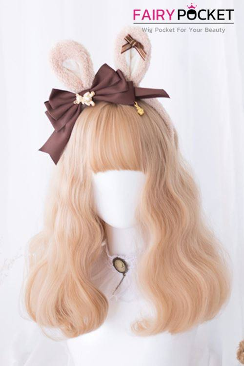 Lolita Medium Wavy Camel Basic Cap Wig