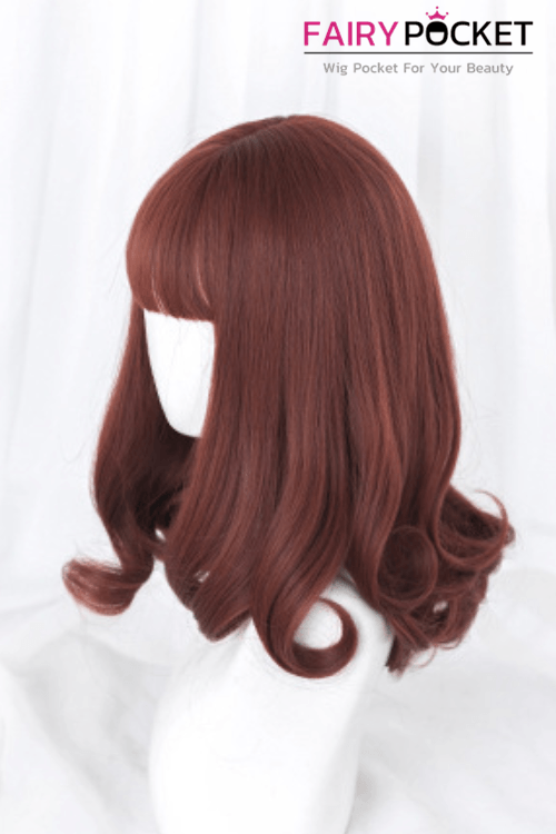 Lolita Medium Wavy Georgia Clay Basic Cap Wig