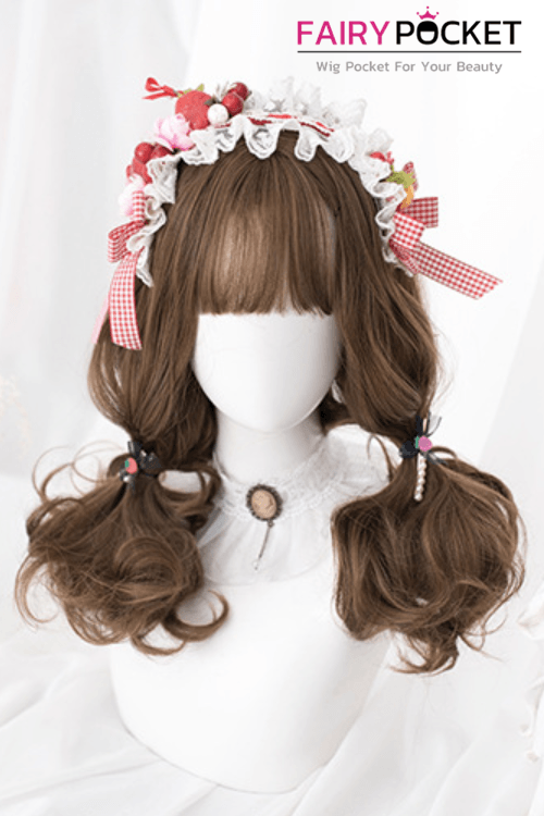 Lolita Medium Wavy Light Cinnamon Basic Cap Wig