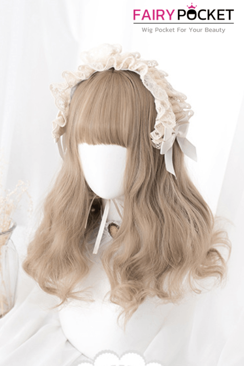 Lolita Medium Wavy Mink Tan Basic Cap Wig