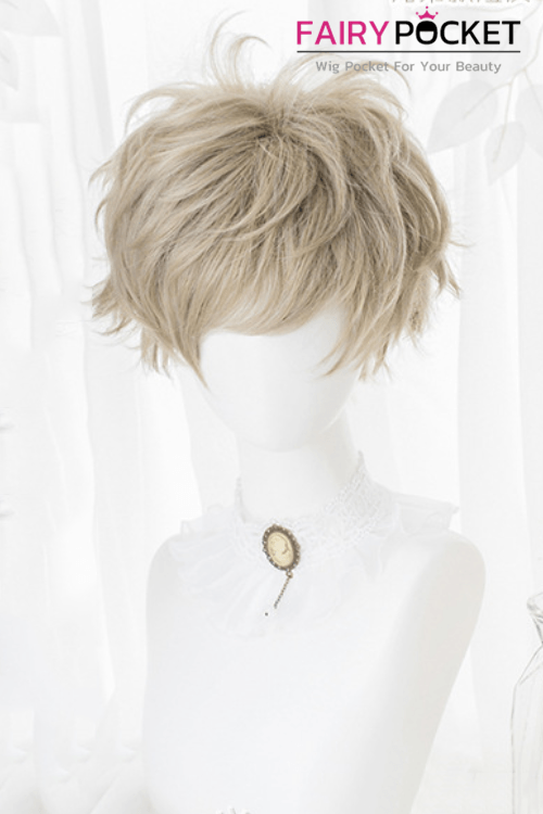 Lolita Short Straight Fawn Basic Cap Wig