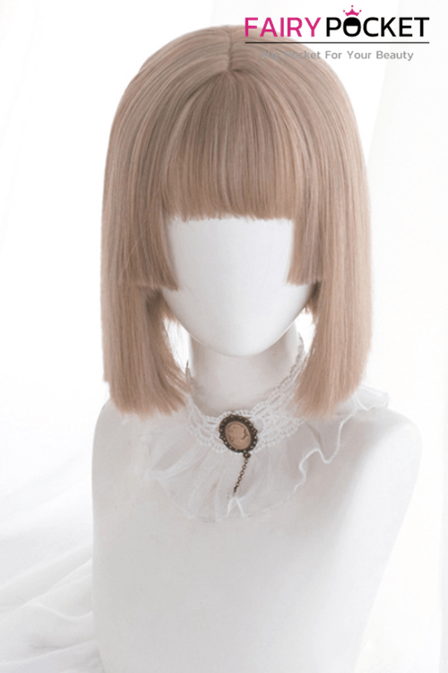 Lolita Short Straight Mink Tan Basic Cap Wig