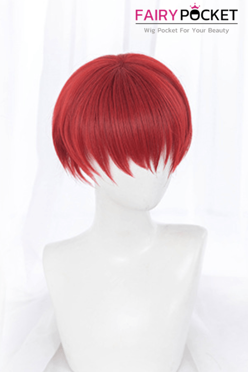 Lolita Short Straight Primary Red Basic Cap Wig