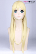 LoveLive Eri Ayase Anime Cosplay Wig - Light Blonde