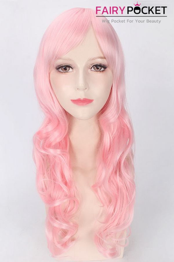 Macross F Sheryl Nome Anime Cosplay Wig - Pink