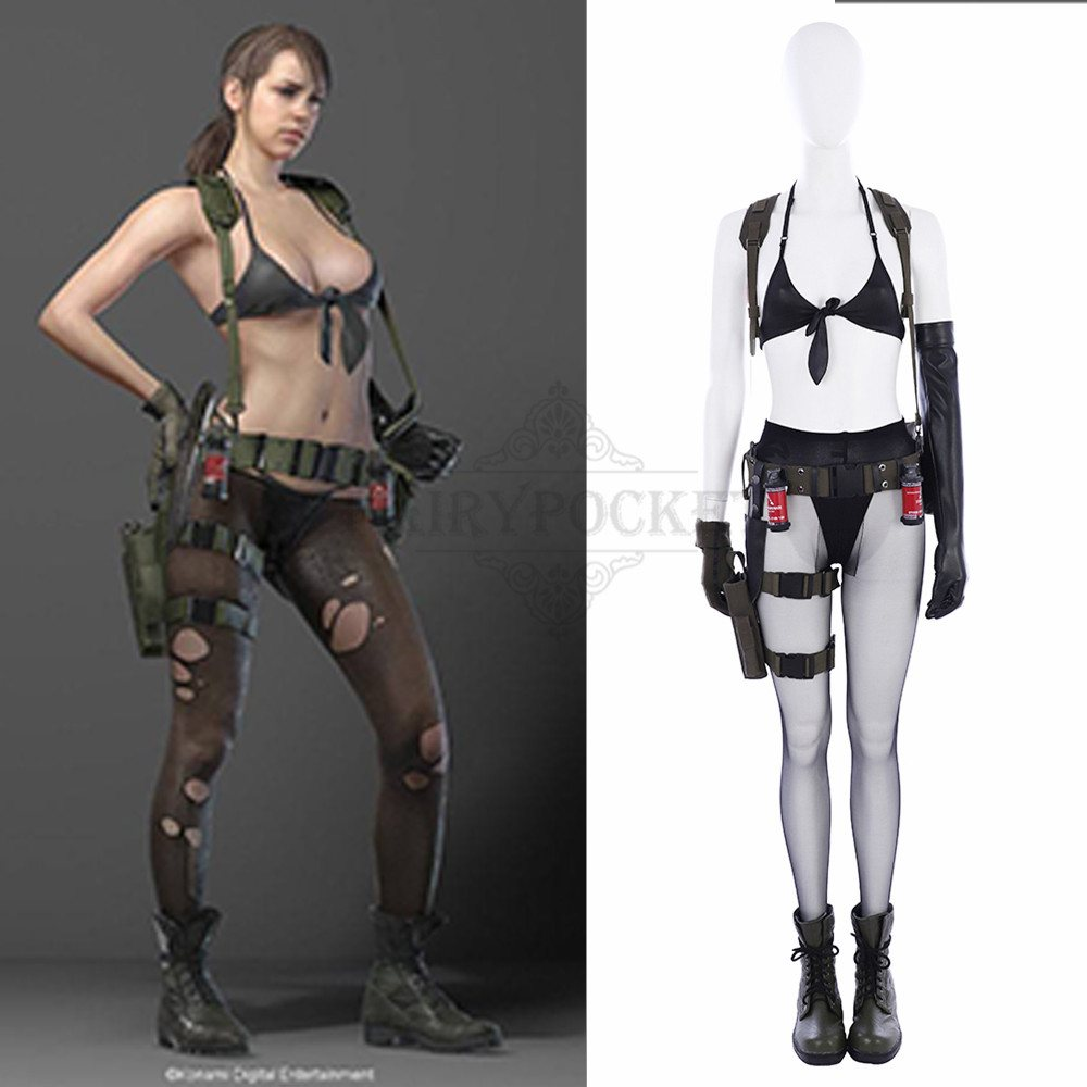 v Metal cosplay solid gear
