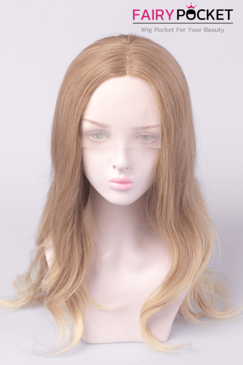 Mink Tan to Sand Long Wavy Lace Front Wig