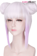 Miss Kobayashi's Dragon Maid Kanna Kamui Anime Cosplay Wig - Buns