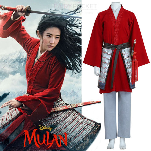 Movie Mulan Cosplay Costume