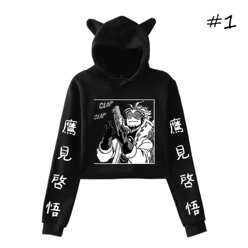 My Hero Academia Anime Cat Ear Hoodie (3 Colors)