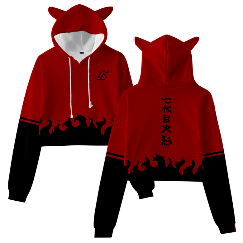 Naruto Anime Cat Ear Hoodie - BE