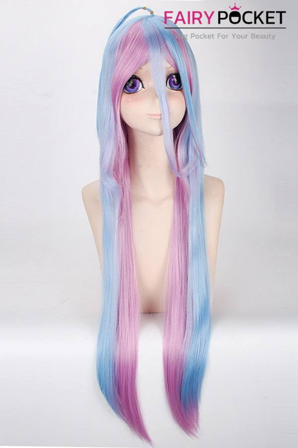 No Game No Life Shiro Anime Cosplay Wig