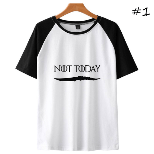 Not Today Short-Sleeve T-Shirt (3 Colors) - C