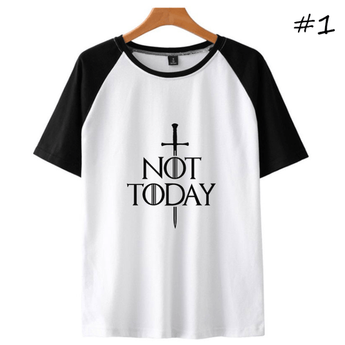 Not Today Short-Sleeve T-Shirt (3 Colors) - D