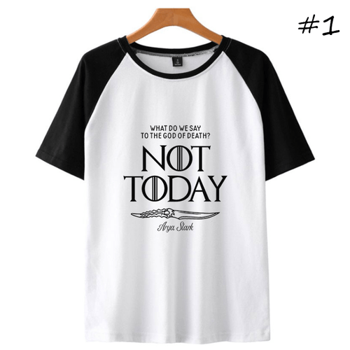 Not Today Short-Sleeve T-Shirt (3 Colors) - E