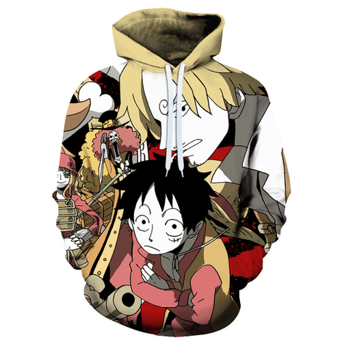 One Piece Anime Hoodie - BE