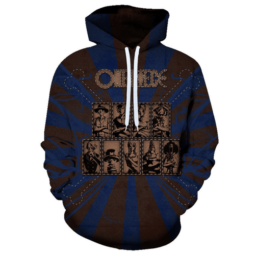 One Piece Anime Hoodie - DH
