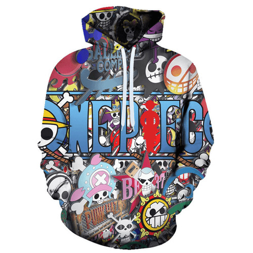 One Piece Anime Hoodie - DL