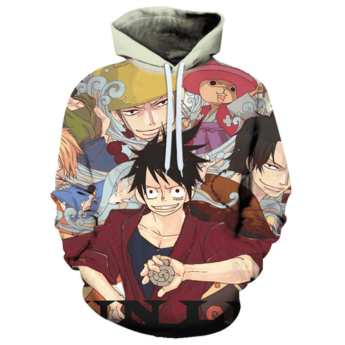 One Piece Anime Hoodie - DM