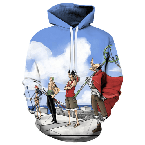 One Piece Anime Hoodie - GP