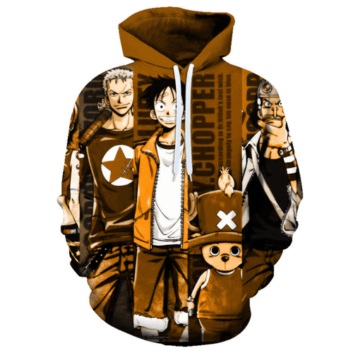 One Piece Anime Hoodie - GS