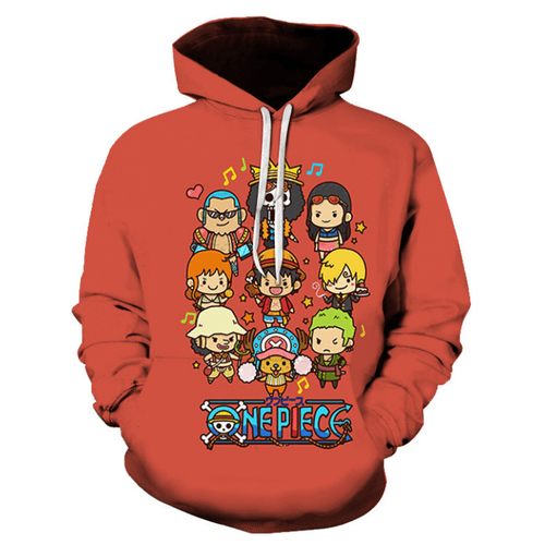 One Piece Anime Hoodie - LE