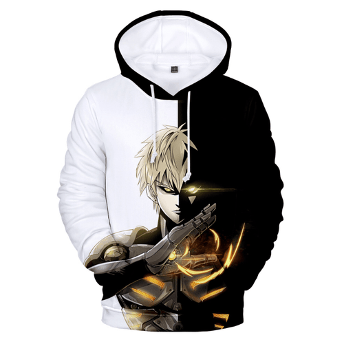 One Punch Man Genos Anime Hoodie