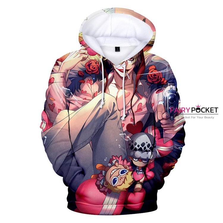 One Piece Corazon Hoodie