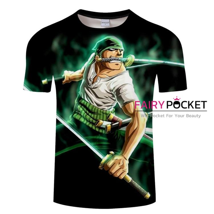 One Piece Roronoa Zoro T-Shirt - B