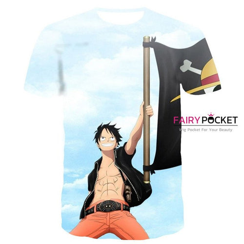 One Piece Monkey D. Luffy T-Shirt - M