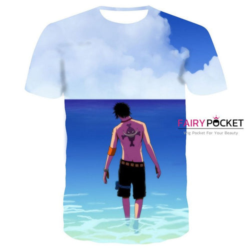 One Piece Portgas D Ace T-Shirt - E