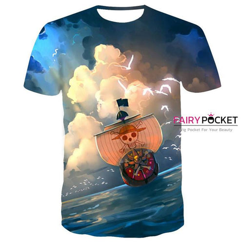 One Piece T-Shirt - F