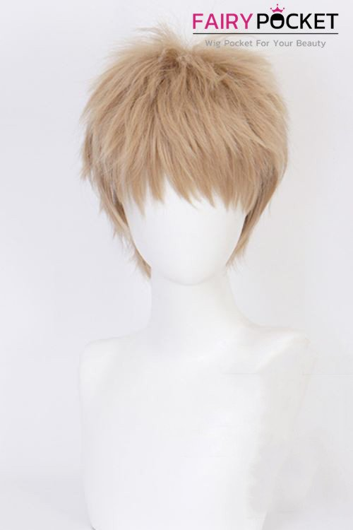 One Punch Man Genos Cosplay Wig